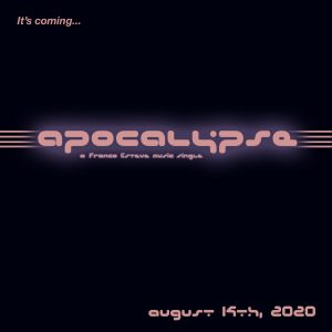 Apocalypse Music Single Teaser Announcement Image