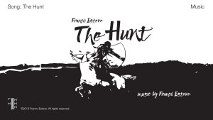 The Hunt music video title card image