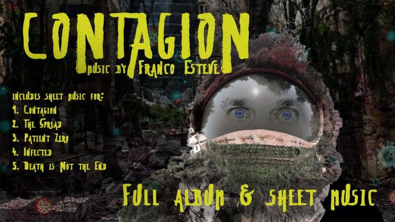 Contagion Sheet Music Announcement Image