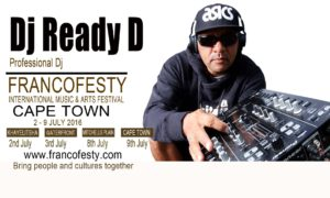 Lineup website Dj Ready D