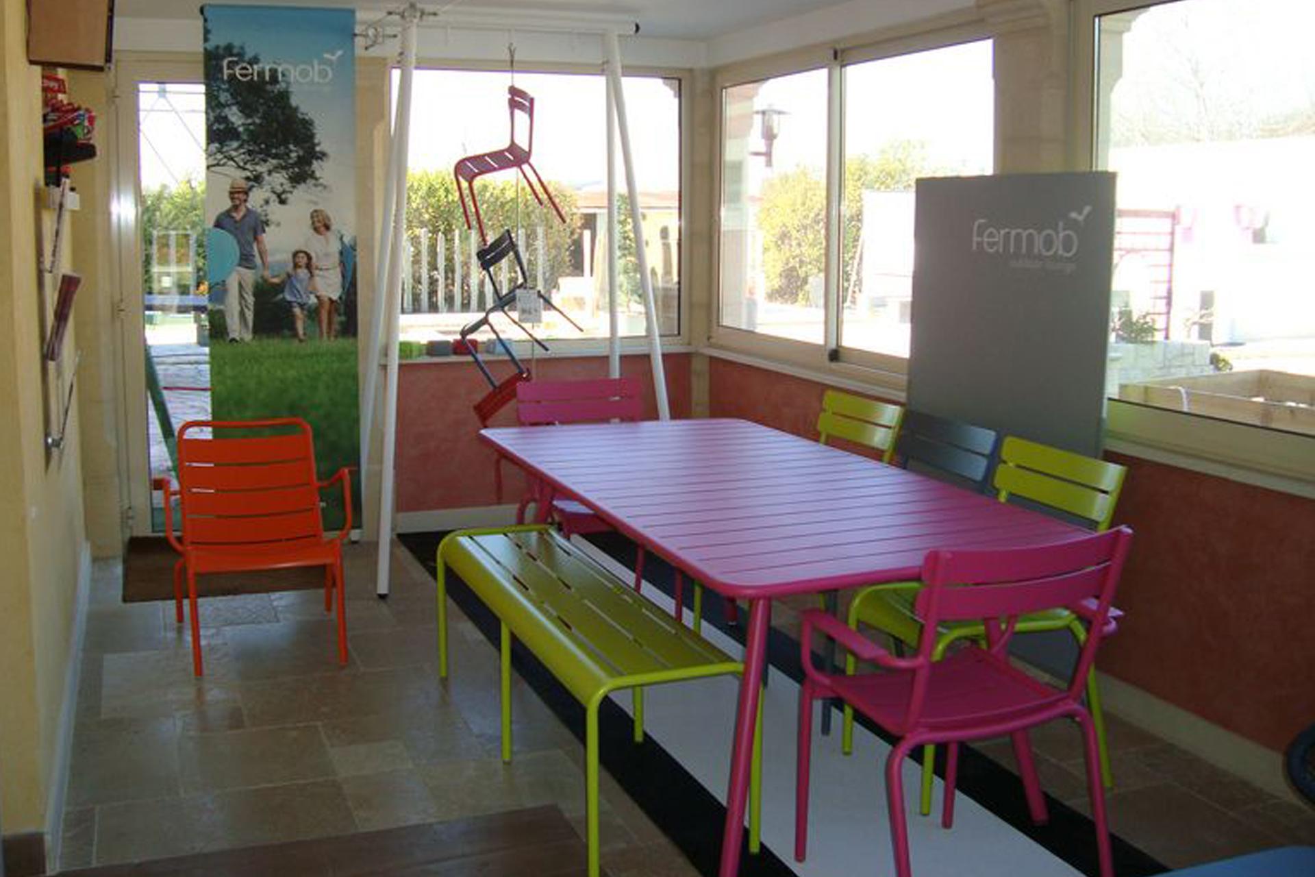 Mobilier Jardin Couleur Maison Franois Fabie