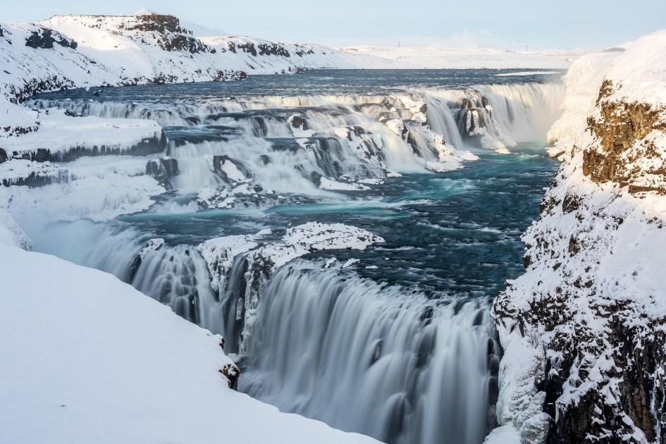 La cascade de Gulfoss
