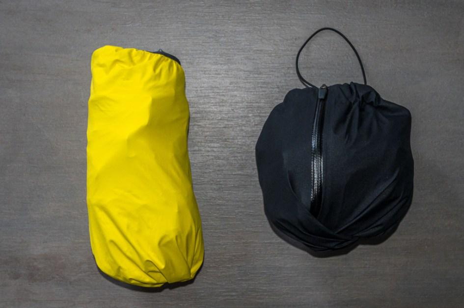 Haglöfs L.I.M jacket et L.I.M pant compressés