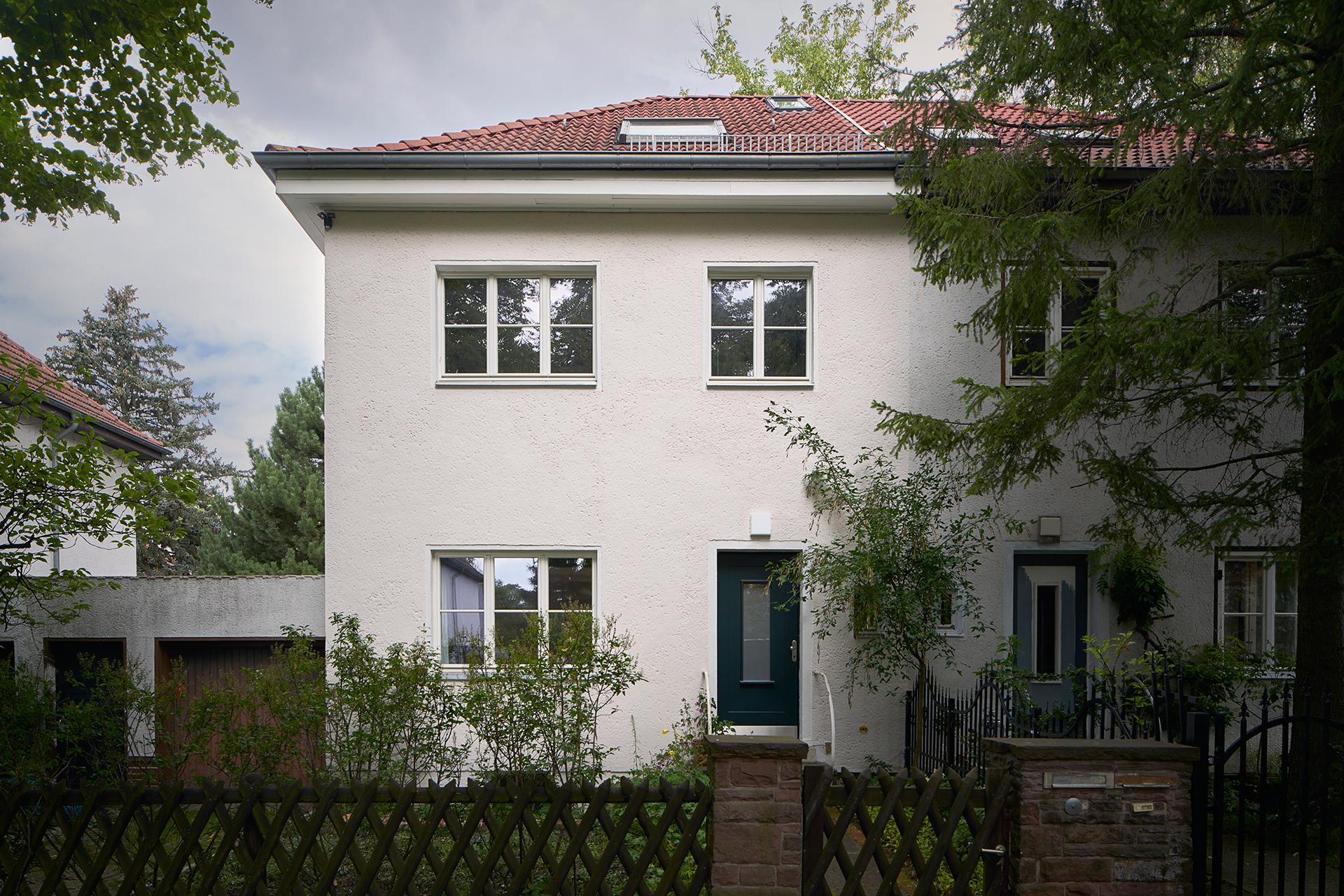 Umbau Und Modernisierung Eines Siedlungshauses Von 1937 In
