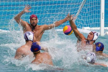 In direction of the cancellation of the pre-Olympic water polo occasion