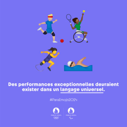 4 emojis for the Paralympic Video games