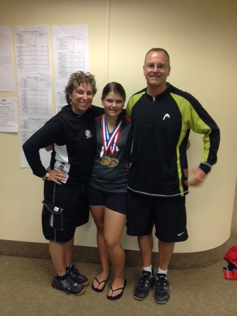 Jordan Cooperrider and her Dad