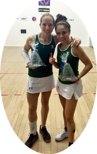 Paola Longoria wins singles and doubles titles with Samantha Salsa at season opening event in Colombia.