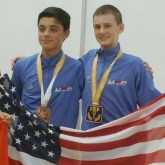 Mitchell Turner wins 2 Medals at the 2015 Jr. World Championships Games.