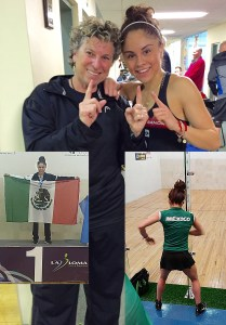 Paola Longoria makes it back to back wins....in the LPRT Warren, NJ pro stop and in the Pan American Championships GOLD for MEXICO.