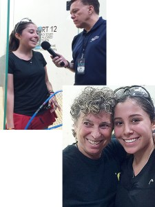Ingrid Robledo Jr. National Champion Girls 16 singles & doubles.