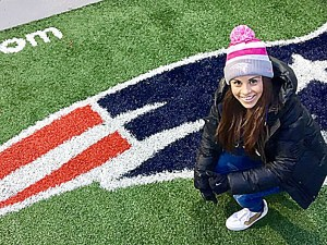 Paola-Longoria's-Dream-Come-True...watching-the-New-England-Patriots-in-person-at-the-AFC-Championship-Game-&-Super-Bowl.
