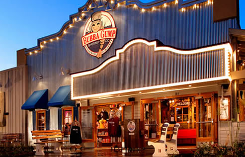 Image result for bubba gump shrimp restaurant