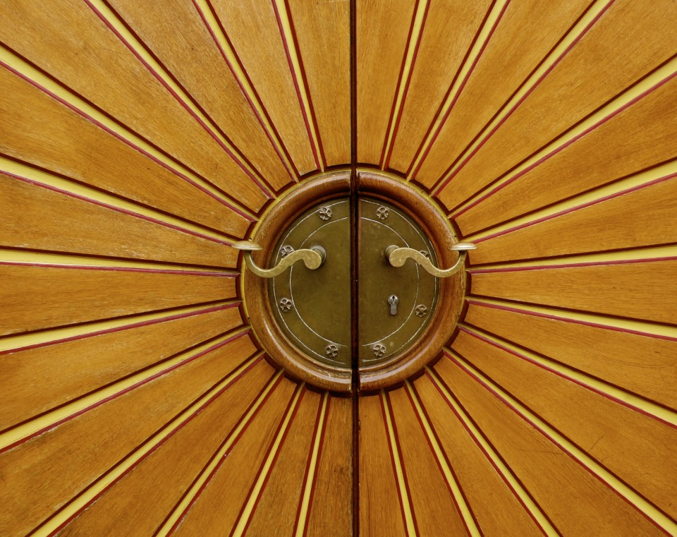 Wooden Door: detail
