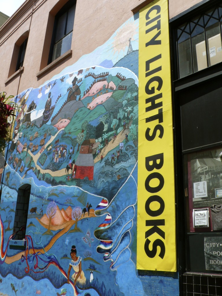 And I can't even imagine a trip to San Fran without a stop at City Lights Bookstore!  I could have spent all day there.