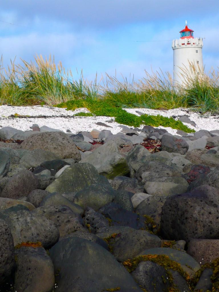 Beautiful coastline of Reykjavik