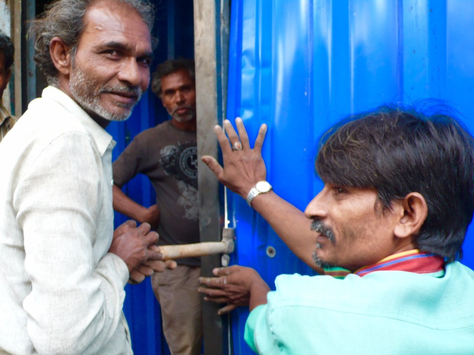 Industrious Residents of Dharavi Undercity