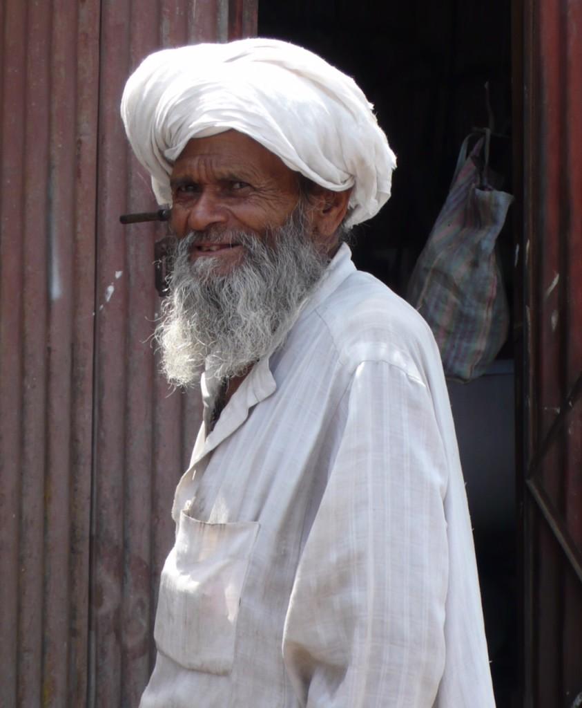 Grandfather's Smile