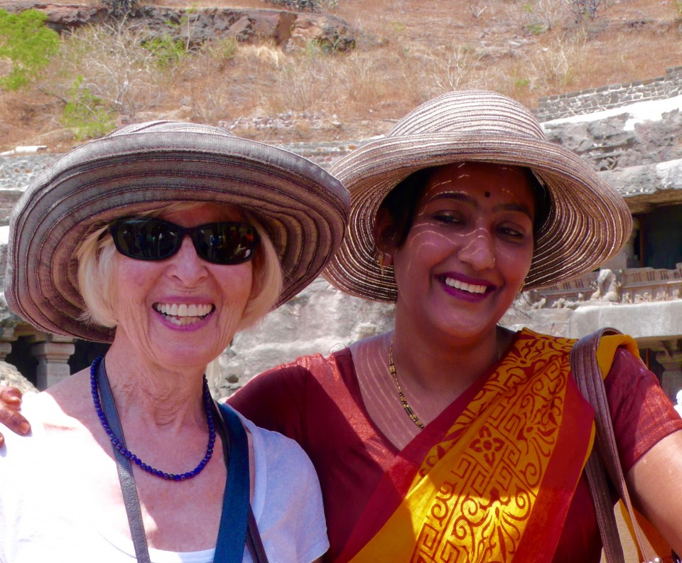 This woman posing with Tone took my hat off and placed it on her head for the photo! She was there with her three sisters and their children.