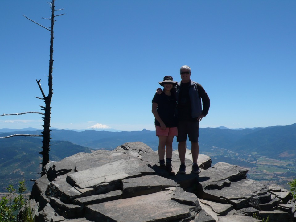 The hikers themselves (Rick and me)