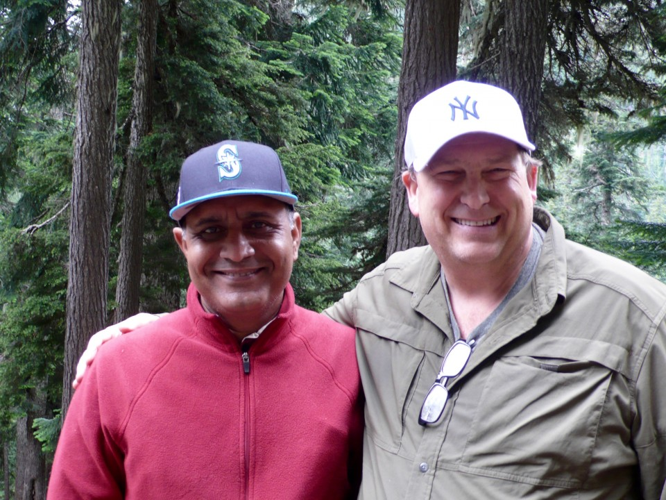 These two met yesterday for the first time at the Mariners' game!  Fast friends for life!