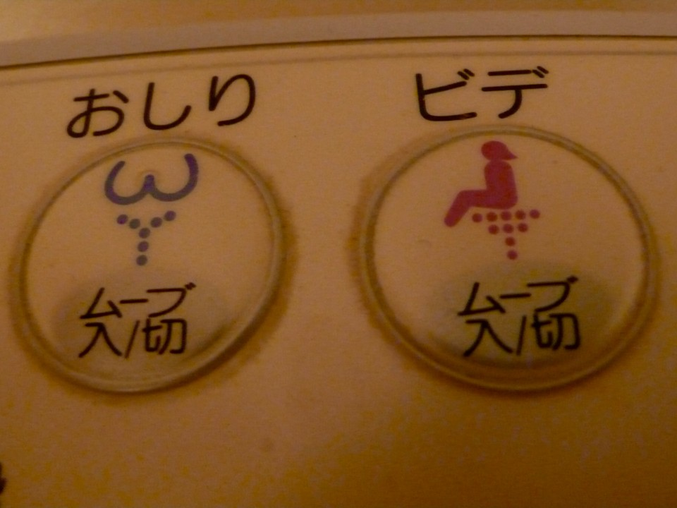 "And sorry if this seems strange to include, but seriously, this is even funnier in the early morning.  Remember, you read from right to left in Japan...(""bottom"" washer and ""bottom"" dryer!)  Sophisticated toilet!"