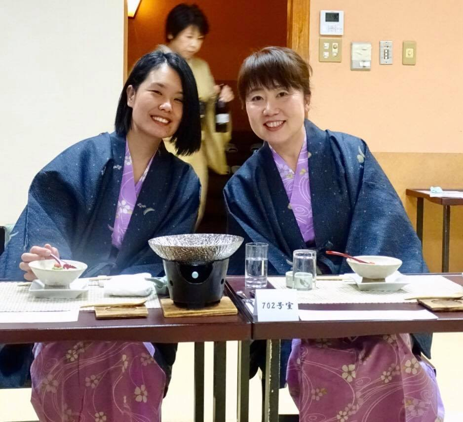 Yukiko and Chiaki