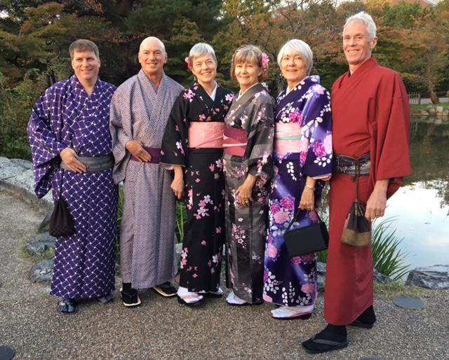 Marc, John, Daphne, Bridget, Debby, and Bill