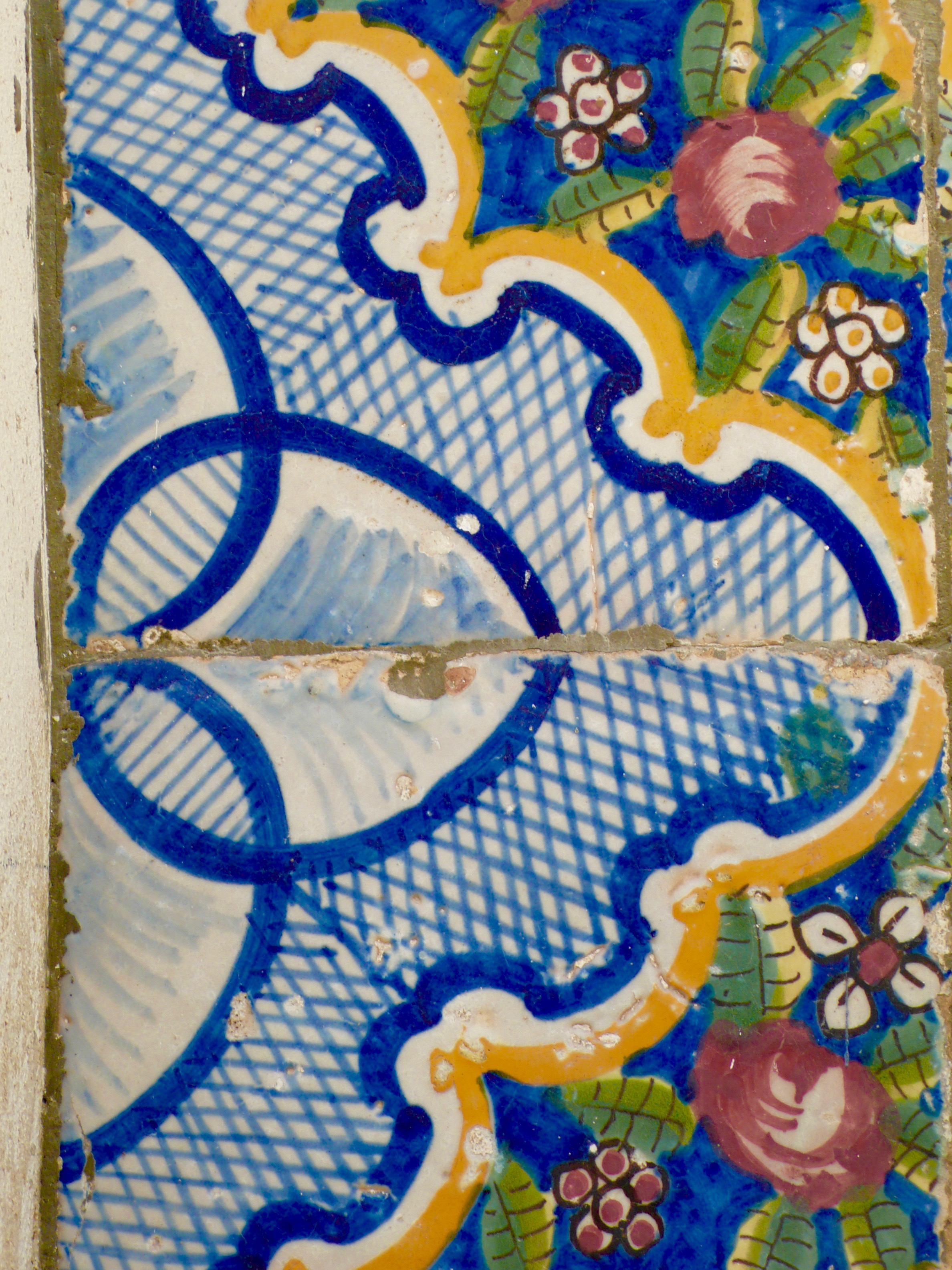 Old tile detail