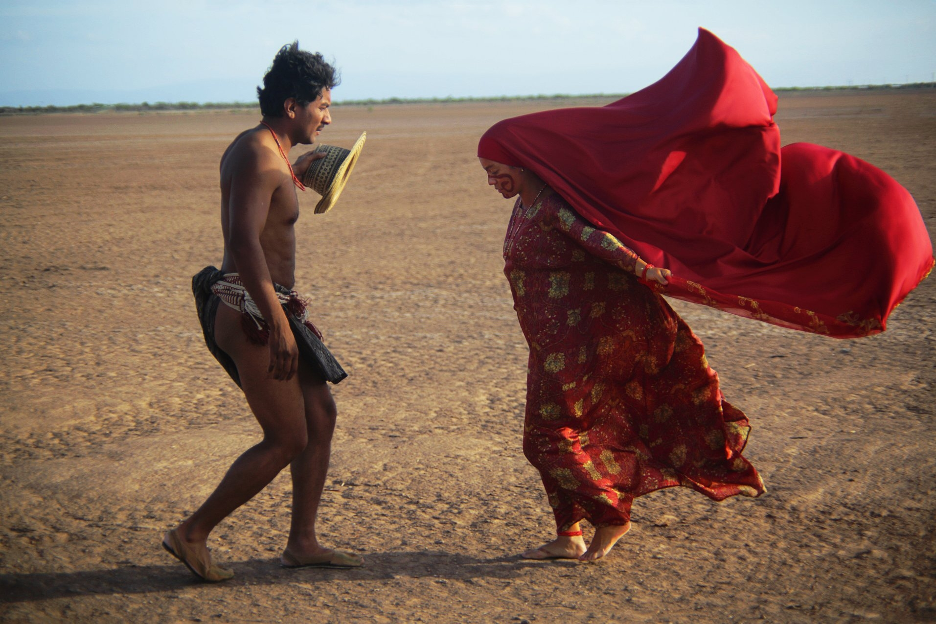 Yonna dance in Birds of Passage film