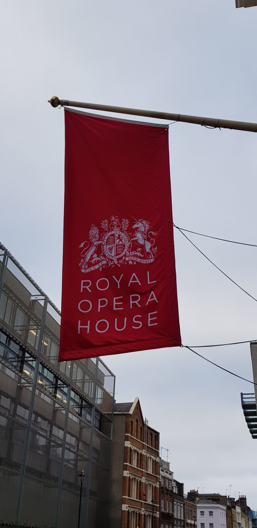 The flag of The Royal Opera House