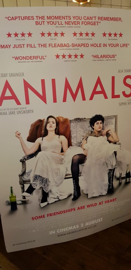 The film poster for Animals