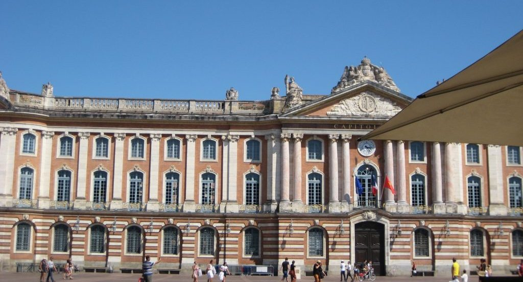 Capitole from Place du Capitole in Toulouse