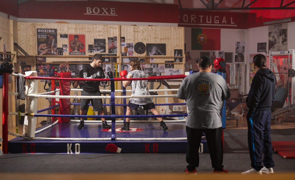 The boxing club in Gabriel