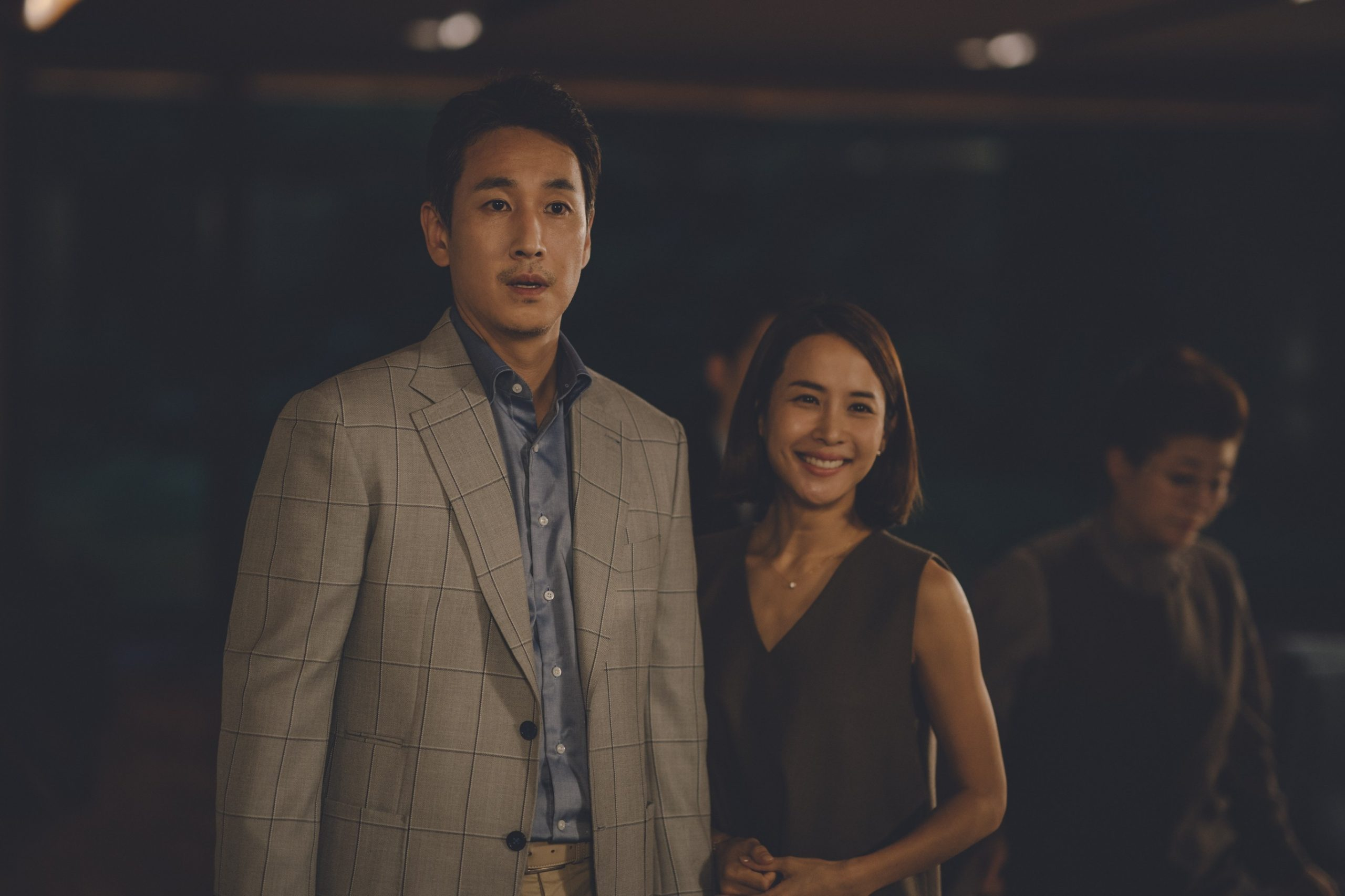 The Park family in Parasite