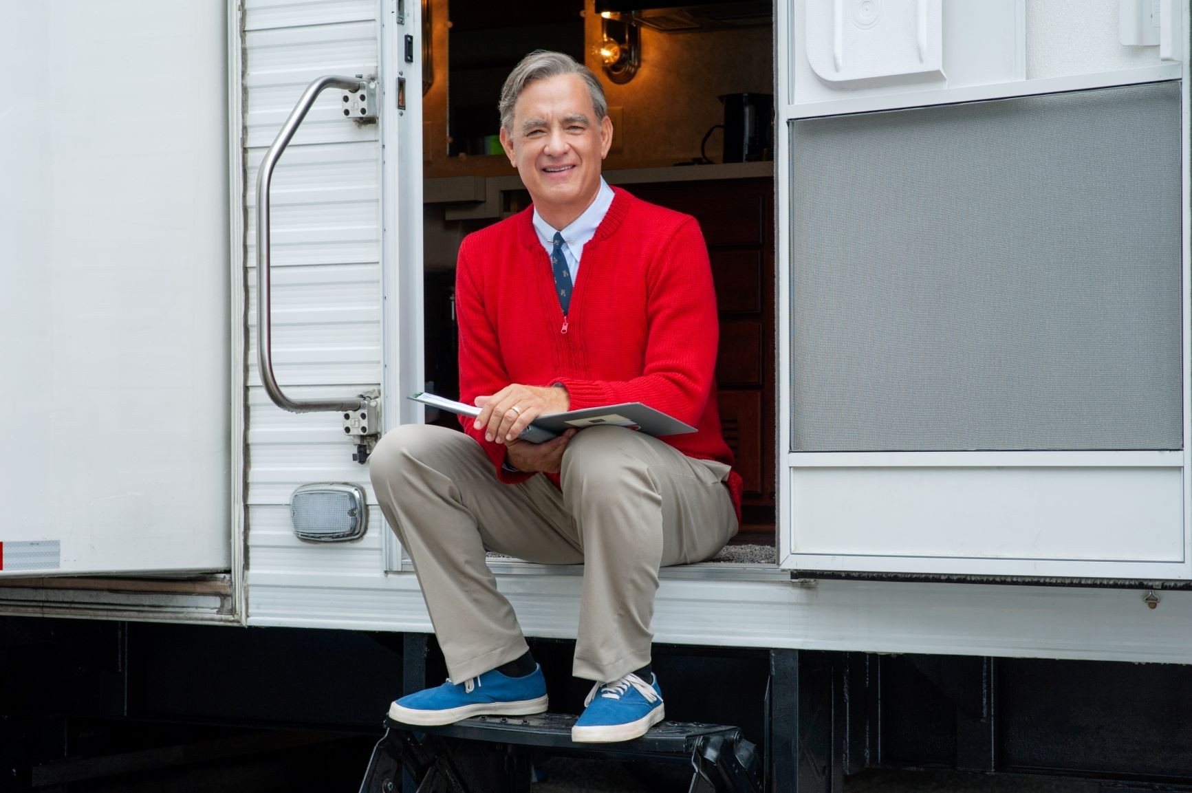 Tom Hanks as Mr Rogers in A Beautiful Day in the Neighborhood