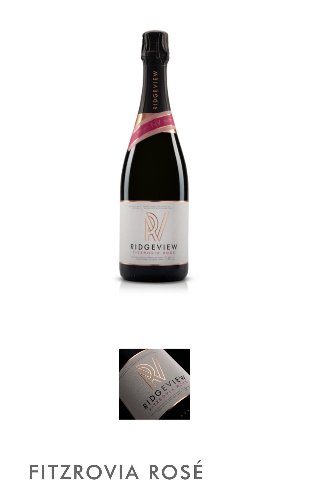 Ridgeview - Fitzrovia Rosé wine