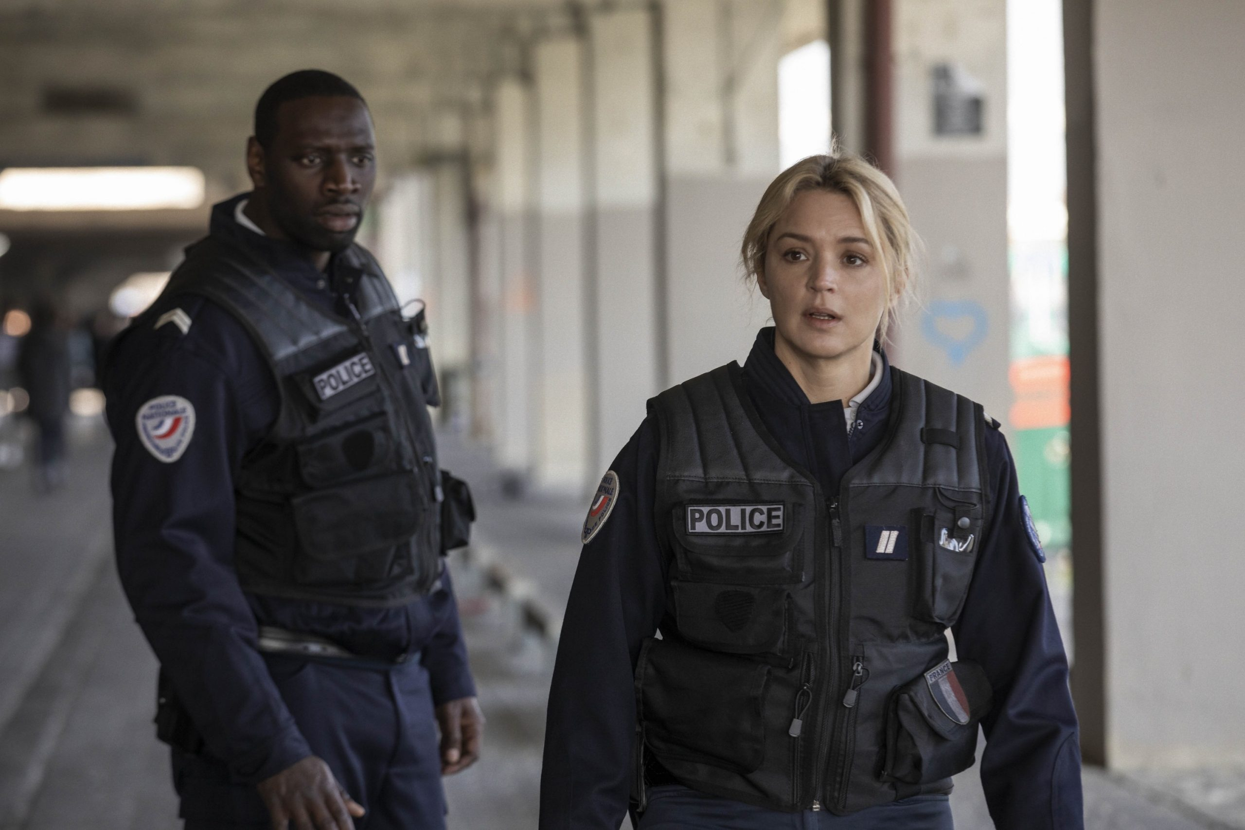 Virginie Efira and Omar Sy in Night Shift