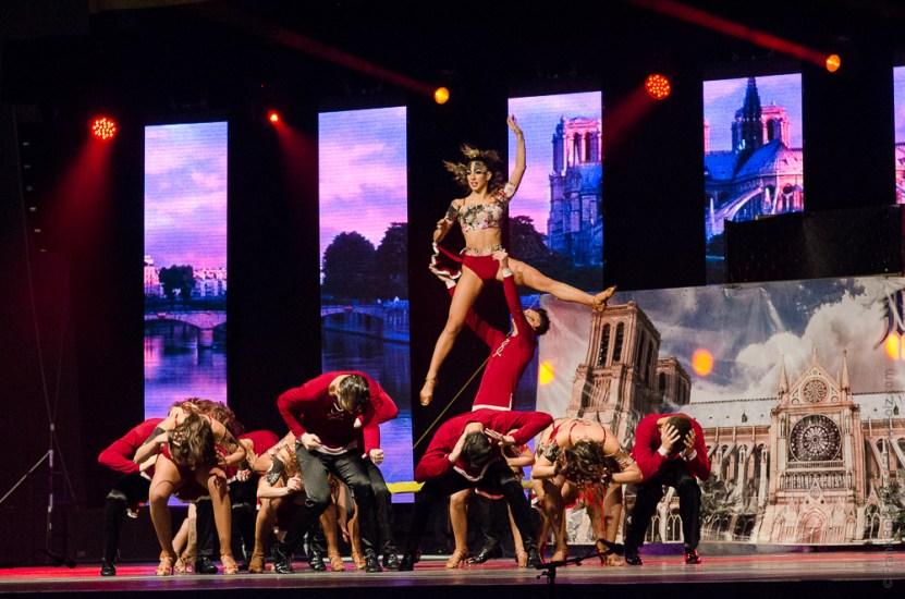 LA ROSA DEI VENTI, ITALY, ADULT LATINO SHOW FORMATION @ IDO Gala World Event 2016, Graz, Austria