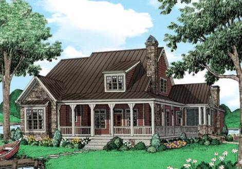 lake house plans   Frank Betz Associates KETTLE RIVER Lake House Plans