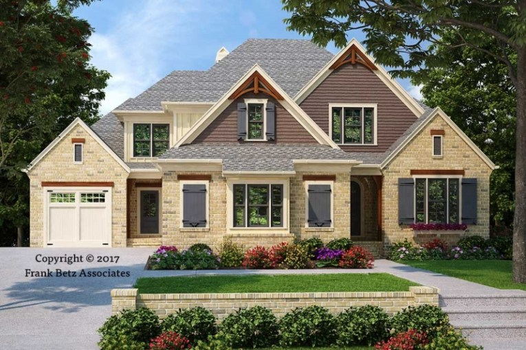 House Plans with Inlaw Suites   Frank Betz Associates LAVISTA PARK House Plans with Inlaw Suites
