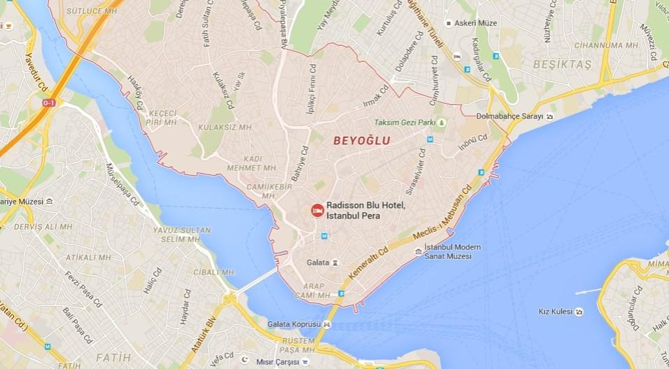 Istanbul 2016: hotel