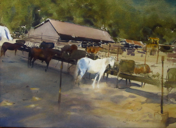 Ranger Stables, Afternoon (2017) by Frank Eber