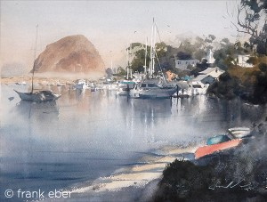 The Rock at Morro Bay (2017) by Frank Eber