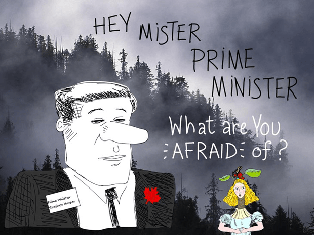 Hey Mr Prime Minister What are You Afraid of