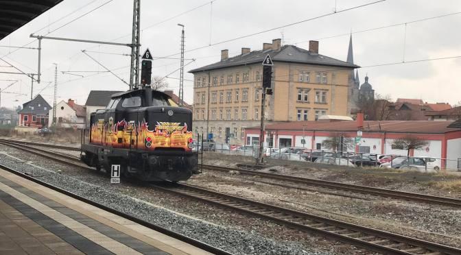 Rangieren in Lichtenfels (08.03.17)