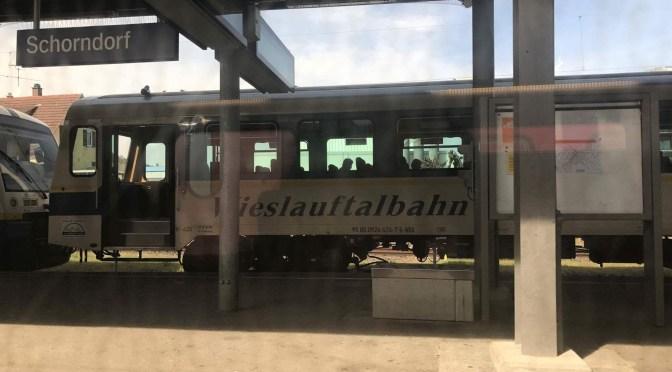 Wiesel (Wieslauftalbahn) in Schorndorf