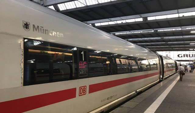 "ICE 520 ""München"" in München Hbf."