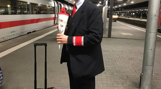 Kenny auf Abschiedstour als Zugchef (22.08.2017)