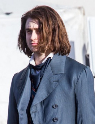 Daniael Radcliffe On Set Of Victor Frankenstein